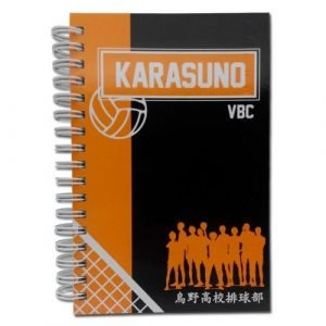 Haikyu!! Karasuno VBC Hardcover Notebook