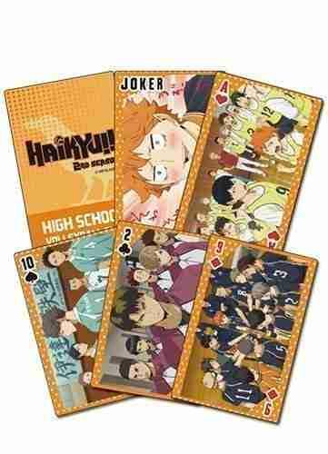 Haikyu!! S2 Big Group Playing Cards
