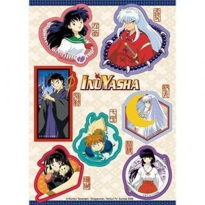 InuYasha Characters Sticker Set