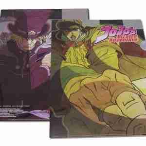 JoJo's Bizarre Adventure Jonathan and Dio File Folder