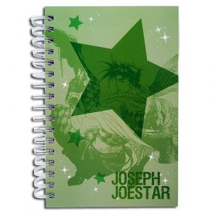JoJo's Bizarre Adventure Joseph & Caesar Hardcover Notebook