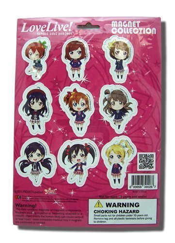 Love Live! SD Characters Magnet Collection