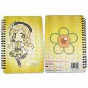 Madoka Magica Mami Softcover Notebook