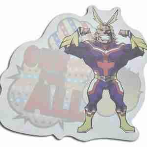 My Hero Academia All Might Die-Cut Memo Pad