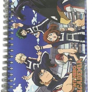My Hero Academia Group Sportswear Notebook