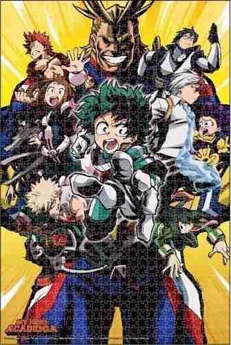 My Hero Academia Group 01 Puzzle