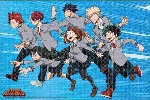 My Hero Academia Group 02 Puzzle