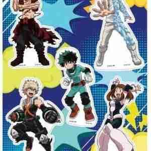 My Hero Academia Group Hero Costume #3 Sticker Set