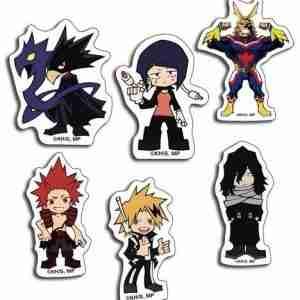 My Hero Academia Group SD #2 Die-Cut Sticker Set