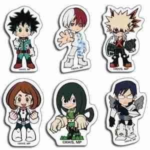My Hero Academia Group SD Die-Cut Sticker Set