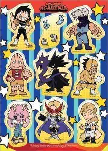 My Hero Academia S2 Group SD Sticker Set