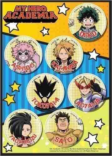 My Hero Academia S2 Hero Costume Sticker Set