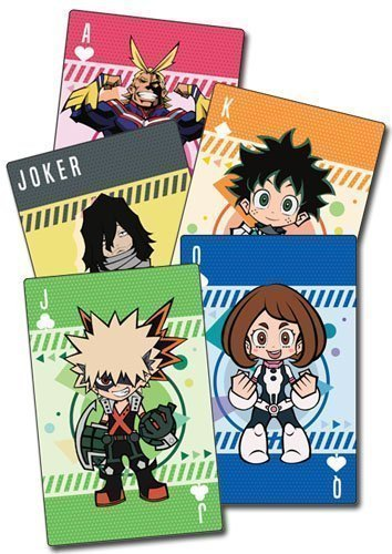 My Hero Academia SD Group Playing Cards