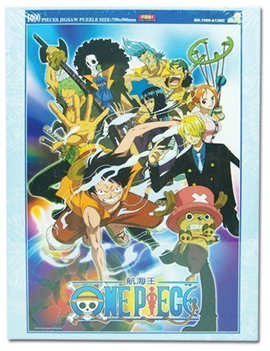 One Piece 1000pc Group Puzzle