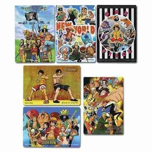 One Piece Foil Sticker Set