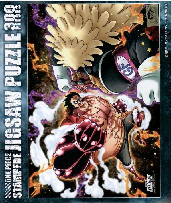 One Piece Luffy vs Bullet 300pc Jigsaw Puzzle