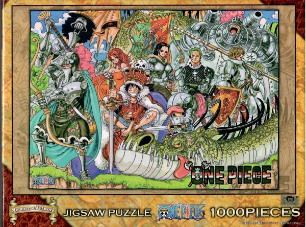 One Piece Memory of Artwork Vol 4 1000pc Jigsaw Puzzle