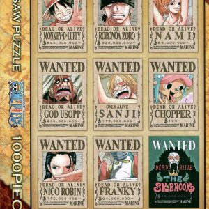 One Piece New Wanted Posters 1000pc Jigsaw Puzzle