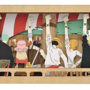 One Piece Sign of Friendship Wood Style Paper Theater
