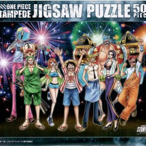 One Piece Stampede Summer Vacation 500pc Jigsaw Puzzle