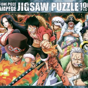One Piece Stampede War Flames 1000pc Jigsaw Puzzle