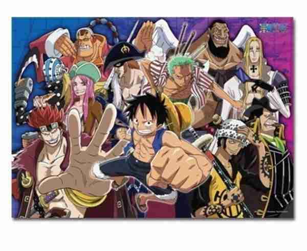 One Piece Super Nova 2 Group 520pc Jigsaw Puzzle