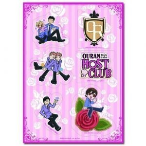 Ouran High School Host Club Group Sticker Set 2