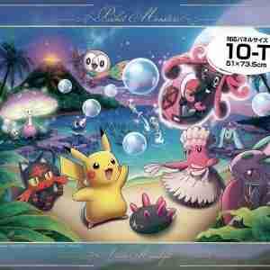 Pokemon Akala Moonlight 1000pc Jigsaw Puzzle