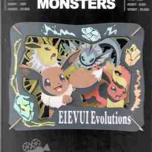 Pokemon Eevee Evolutions Paper Theater