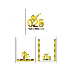 Pokemon Facing Pages Type Sticky Notes Pikachu 025