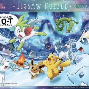 Pokemon Mysterious Aurora 1000pc Jigsaw Puzzle