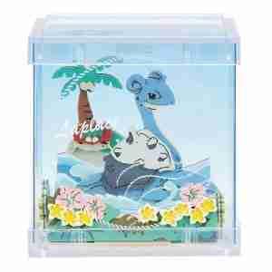 Pokemon Paper Theater Cube Lapras