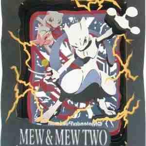 Pokemon Paper Theater Mew & Mew Two