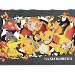 Pokemon Paper Theater Type: Fire