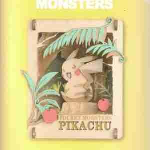 Pokemon Pikachu Mikke Paper Theater