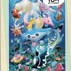 Pokemon Sea and Friends 1000pc Jigsaw Puzzle