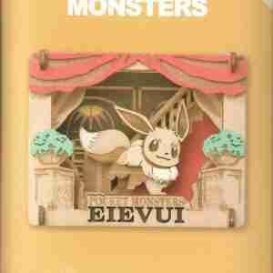 Pokemon With Eevee Paper Theater