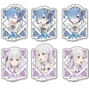 Re:Zero Rem & Emilia Die-Cut Sticker Set