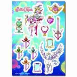 Sailor Moon SuperS Pegasus & Accessories Sticker Set