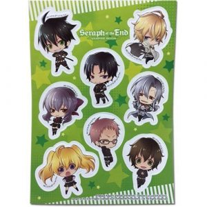 Seraph of the End SD Group Sticker Set