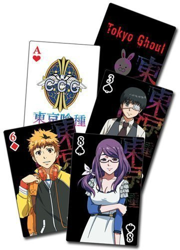 Tokyo Ghoul TV Screenshots Playing Cards