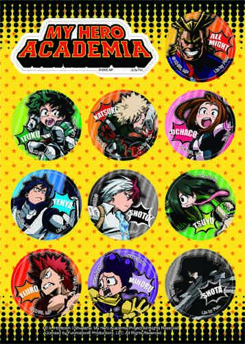 My Hero Academia Hero Group Sticker Set