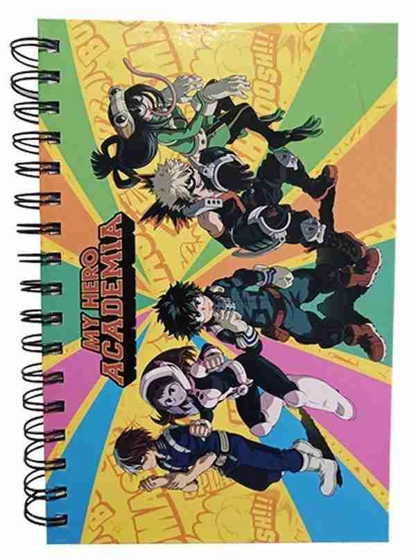 My Hero Academia S3 Group Notebook