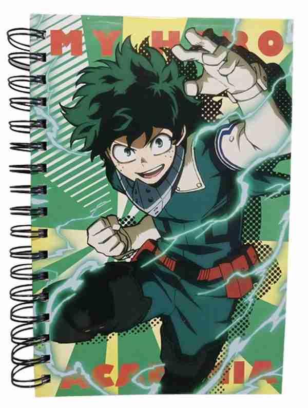 My Hero Academia S3 Izuku Midoriya Notebook