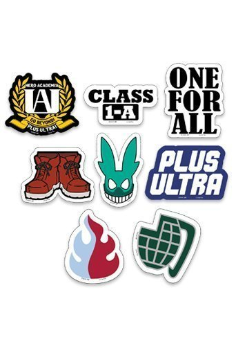 My Hero Academia Symbols Sticker Set