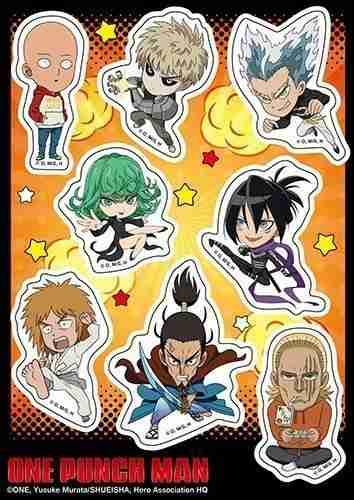 One Punch Man S2 SD Sticker Set