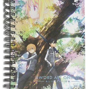 Sword Art Online Alicization Group Notebook
