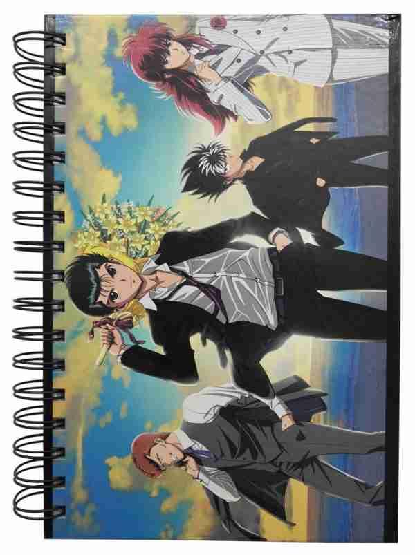 Yu Yu Hakusho Group 25th Notebook
