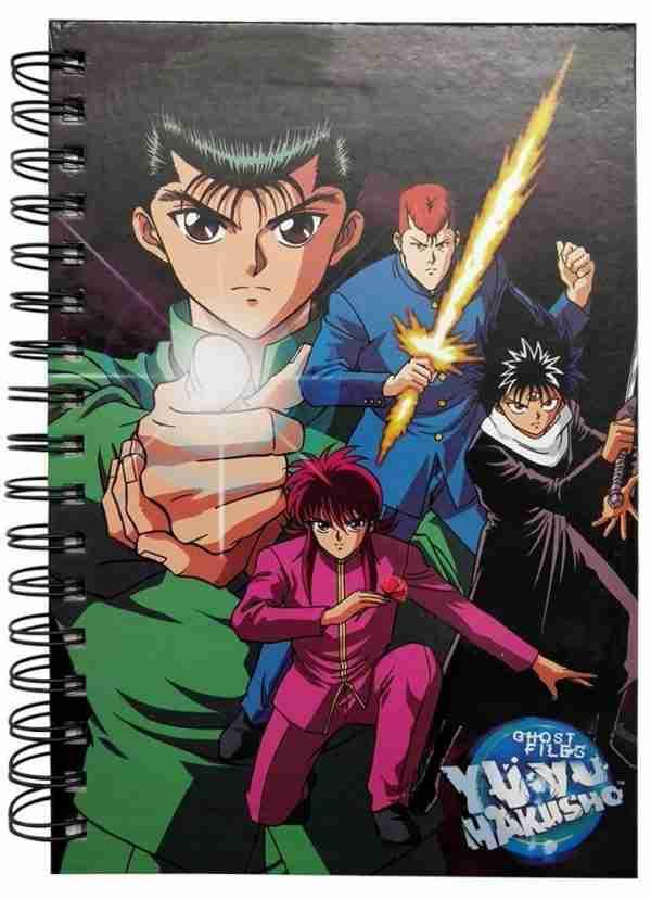 Yu Yu Hakusho Group 2 Notebook