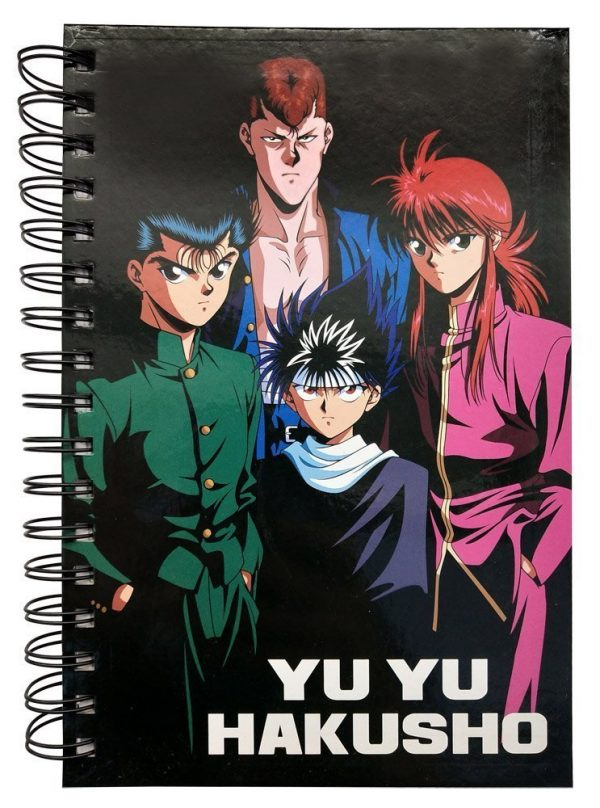 Yu Yu Hakusho Group Notebook